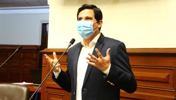 Candidatura de César Combina al Parlamento por APP sigue en carrera. (Foto: Andina)
