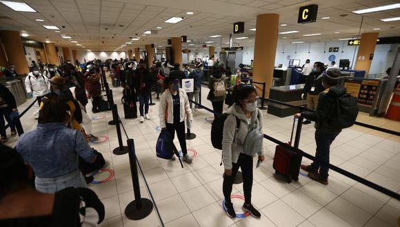 Los vuelos internacionales representaban aproximadamente el 65% de los ingresos del Aeropuerto Jorge Chávez. Antes del COVID-19, la oferta comercial del lado internacional era más importante que el lado doméstico. Ahora esto cambiará. (Foto: Jesús Saucedo / GEC)