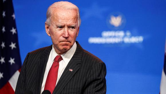 Joe Biden dijo que su equipo de transición está elaborando su propio paquete de ayuda y sus colaboradores han indicado que será el primer proyecto que impulsarán en el legislativo. (Foto: REUTERS/Tom Brenner).