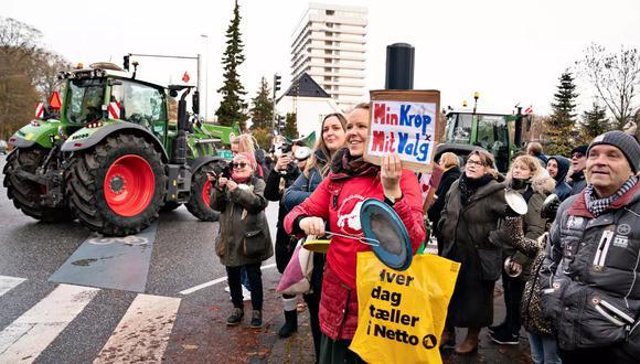 """""""Estamos en estado de conmoción"""" asegura Marianne Nørgaard Sørensen. """"Las palabras no pueden describir la pesadilla que estamos sufriendo"""" dice la mujer. (Foto: AFP)"""