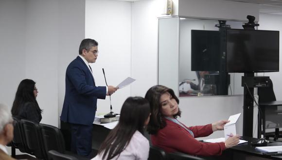 José Domingo Pérez y Martha Chávez se presentaron en la audiencia. (Foto: Hugo Pérez)