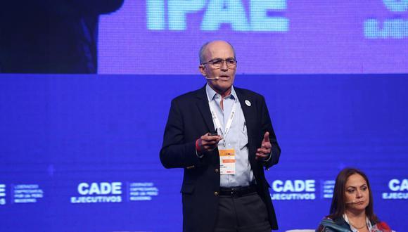 El presidente de la Confiep, Roque Benavides, consideró injusto el trato que se le da a Ricardo Briceño. (Foto: CADE 2018).