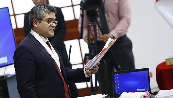 El fiscal José Domingo Pérez sustentará el próximo 7 de noviembre la inclusión de Fuerza Popular en la investigación por presunto lavado de activos contra Keiko Fujimori. (Foto: GEC)