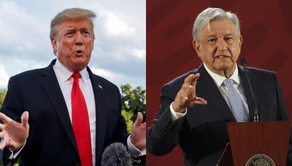 Trump aspira a que el gobierno de AMLO actúe en su frontera sur con Guatemala y en su país para impedir la llegada de migrantes a territorio estadounidense. (Foto: EFE)
