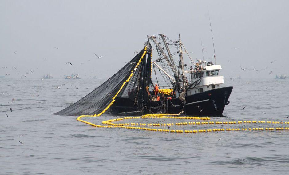 Alrededor de 697 embarcaciones autorizadas han desembarcado 411,060 toneladas métricas del recurso anchoveta para consumo humano indirecto. (Foto: Produce)