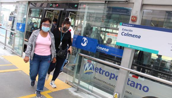 Los buses troncales del Metropolitano movilizarán a 70 usuarios, lo que supone un incremento en el aforo de 26% a 43% de su capacidad. (Foto: Metropolitano).