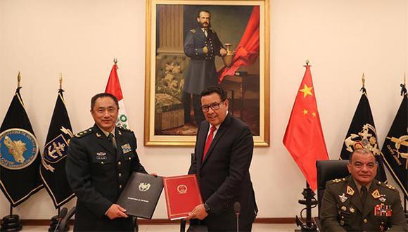 La variedad y cantidad de material militar se pondrá en consulta con cada una de las instituciones armadas y serán confirmadas con la firma de un protocolo. (Foto: Andina)