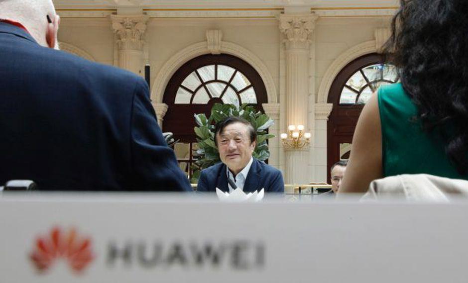 Ren Zhengfei, presidente ejecutivo de Huawei.