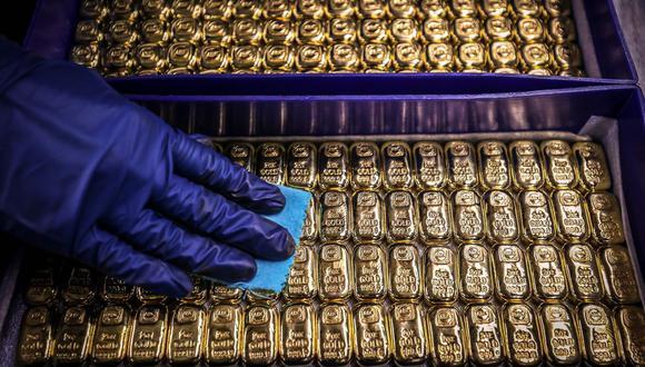 Los futuros del oro en Estados Unidos bajaban un 0.86% a US$ 1,893.9 la onza. (Foto: AFP)