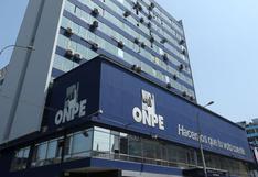 ONPE: partidos políticos del Congreso anterior deben rendir cuentas hasta el lunes sobre destino de fondos