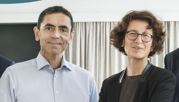 Ugur Sahin y Öezlem Türeci son la pareja fundadora de BioNTech. (Divulgación)
