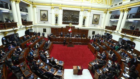 La votación de la reforma constitucional sobre inmunidad parlamentaria tuvo 95 votos a favor. (Foto: Alessandro Currarino / GEC)