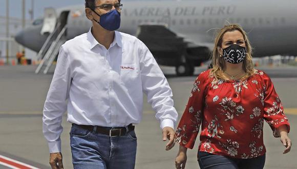 Martín Vizcarra viajó a La Libertad tras presentarse ante el pleno. (Foto: Presidencia).