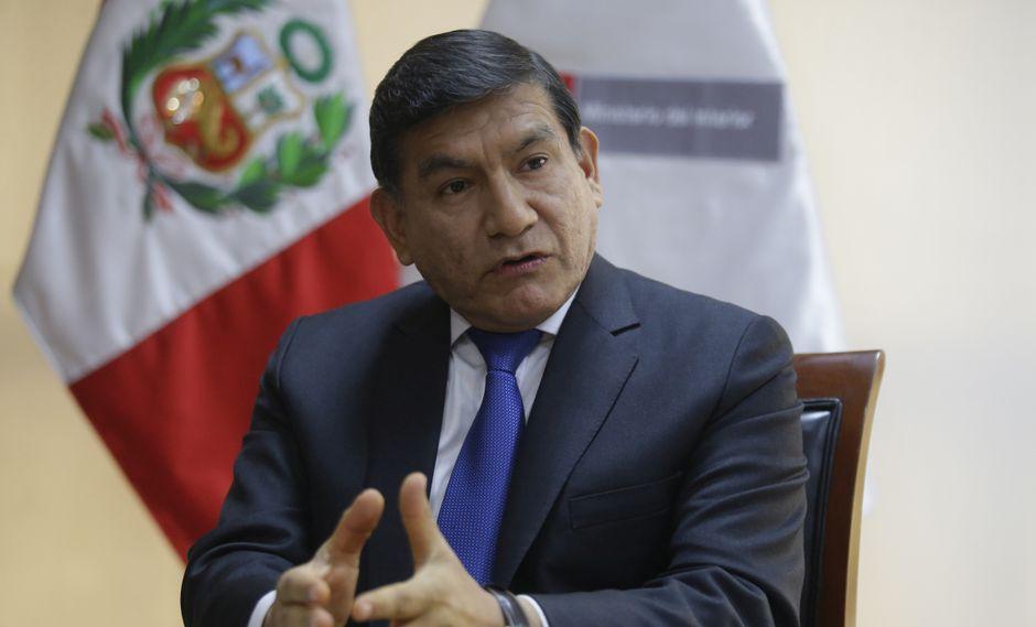 El ministro Carlos Morán cuestionó investigaciones del Congreso de la República al Ejecutivo. (Foto: GEC/Archivo)
