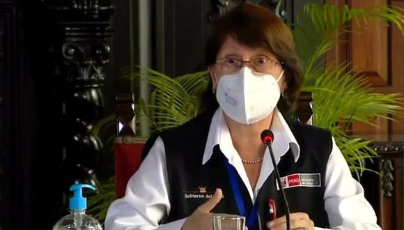 Se desconoce la autoría de la moción de censura contra la ministra de Salud, Pilar Mazzetti, por la presunta vacunación de Martín Vizcarra contra el COVID-19. (Foto: GEC)