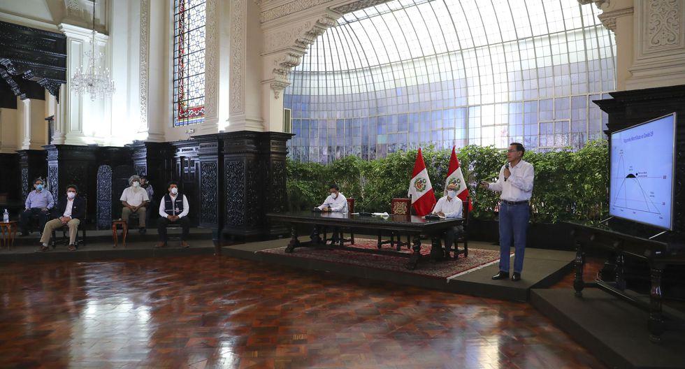 Presidente Vizcarra pidió a la población acatar las normas dispuestas por el Gobierno. (Foto: Presidencia Perú)