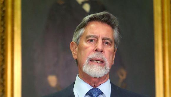 Mensaje a la Nación del presidente Francisco Sagasti (Foto: Presidencia)