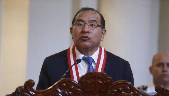 El presidente del JNE, Víctor Ticona, pidió al Congreso que amplíe el plazo para que los partidos en formación puedan inscribirse para participar en los comicios del 2021