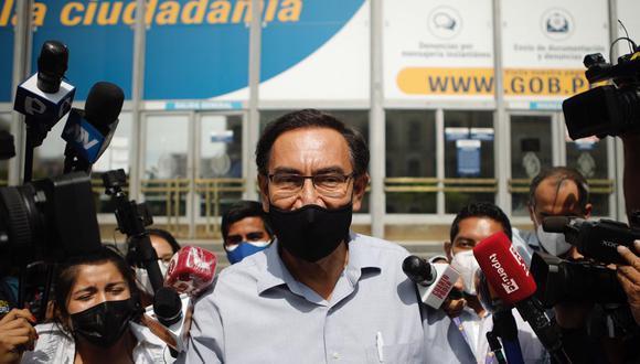 El expresidente Martín Vizcarra señaló que continuará colaborando con la justicia. (Foto: GEC)