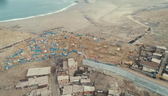 Miles de personas invadieron una zona del distrito de Chorrillos en los últimos días. (Foto: Bryan Albornoz/ @photo.gec).
