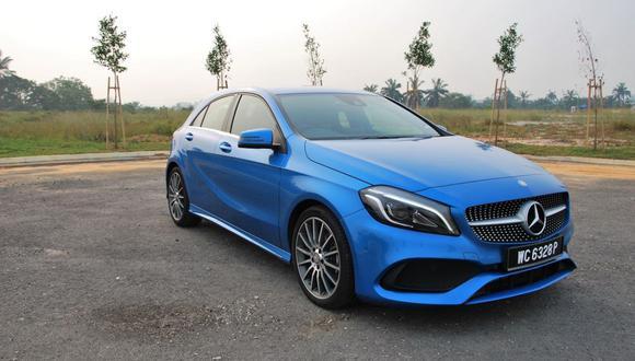 A 200 es uno de los modelos de Mercedes-Benz que será sometido a revisión. (Foto referencial)