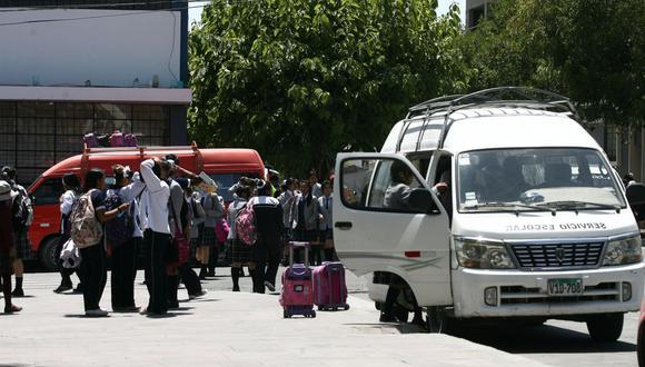 Movilidad escolar  (Foto: GEC)