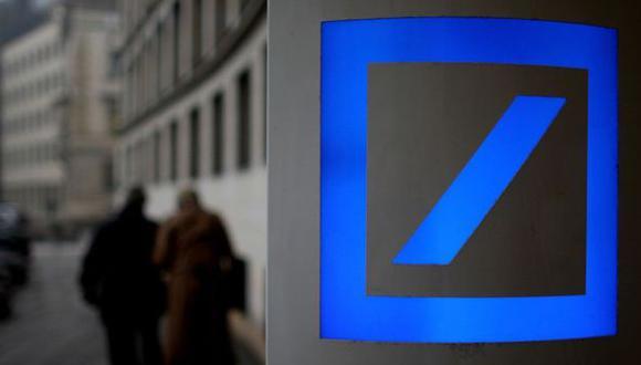Al igual que otros bancos, Deutsche Bank busca reducir el riesgo de financiamiento a clientes ricos en algunos sectores.