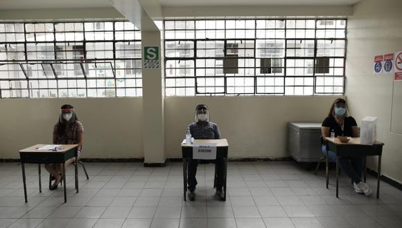 Los electores que no cumplan con ejercer como miembros de mesa pagarán una multa de S/220. (Foto: Anthony Niño de Guzmán / @photo.gec)