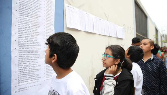 Los COAR permite a los escolares con habilidades sobresalientes a acceder a un servicio educativo de calidad.  (Foto: Andina)