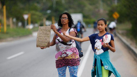 venezolanos. (Foto: AP).
