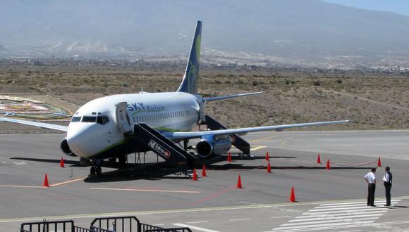 Se trataba del vuelo 803 de la aerolínea SKY, programado para despegar a las 08.30 hora local desde el aeropuerto Jorge Chávez en Lima y con destino final Santiago de Chile (Foto: Referencial/ USI).