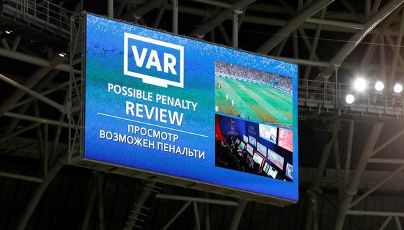 El VAR ha sido decisivo en muchos partidos de este Mundial. (Foto: Reuters)
