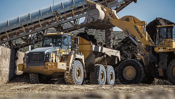 PBI Minería. Sector se contrajo por 12 meses, y revirtió caída en marzo. (Foto: Bloomberg)