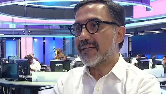 Patricio Hernández, nuevo gerente general de Latina Televisión (Foto: Meganoticias)