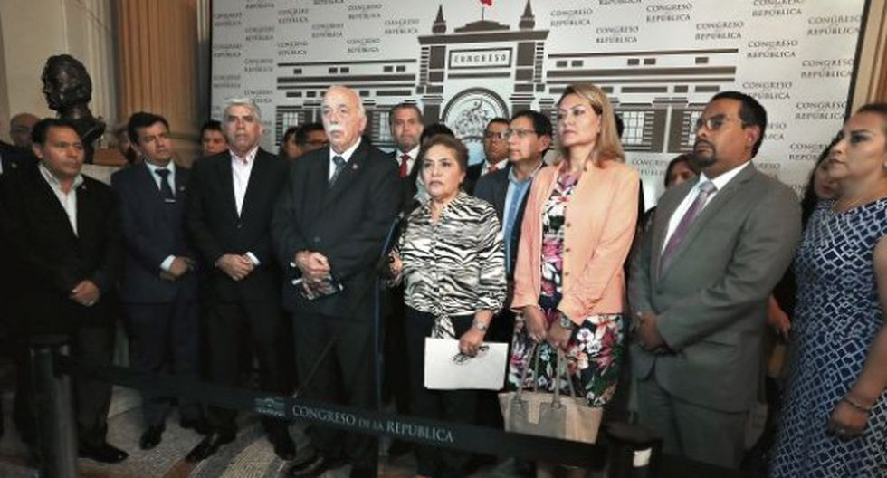Fuerza Popular niega ser una organización criminal, tal como lo plantea el Ministerio Público (Foto: GEC)