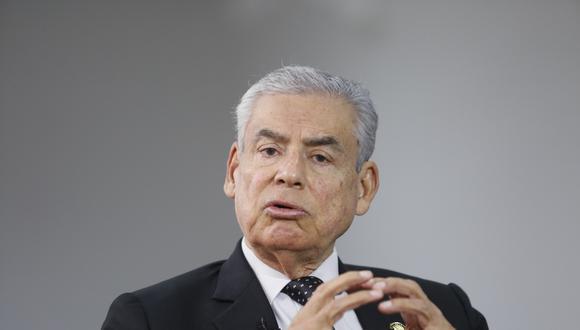 """""""La confianza es la herramienta más fuerte que tiene un país"""", señaló César Villanueva (Foto: USI)"""