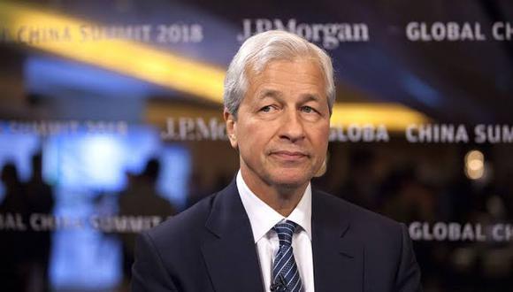 Jamie Dimon, director ejecutivo de JPMorgan Chase & Co.
