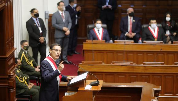 Martín Vizcarra indicó que es uno de los pocos presidentes que ha mantenido informado a la ciudadanía respecto a las acciones que se toman para mitigar el avance del COVID-19. (Foto: Presidencia del Perú)