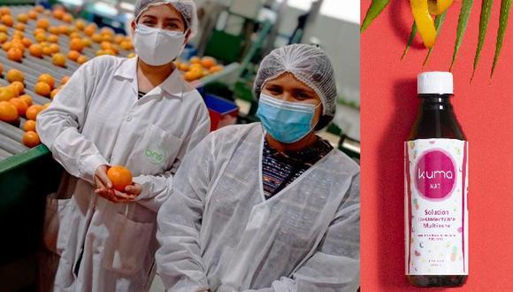 Los científicos han recibido el reconocimiento y respaldo económico del Banco Mundial y Fondecyt para desarrollar y expandir comercialmente la línea de desinfectantes ecológicos. (Fuente: Kuma Nat)
