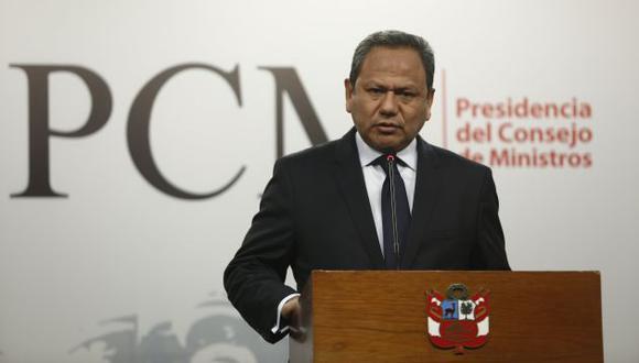 Mariano González fue ministro de defensa durante el gobierno de Pedro Pablo Kuczynski. (Foto: GEC)