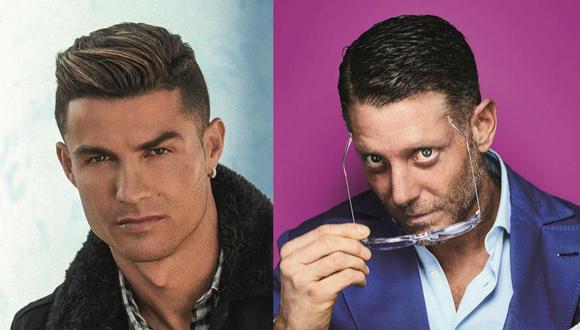 Cristiano Ronaldo y Lapo Elkann.