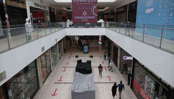Centros comerciales se preparan para el Día de la Madre. (Foto: GEC)