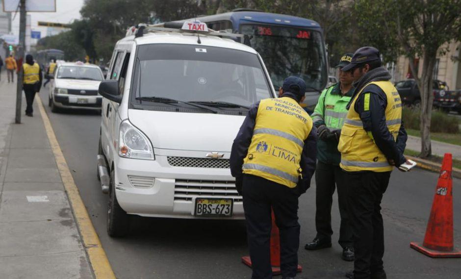 La Policía de Tránsito ya habría enviado la solicitud a la Municipalidad de Lima. (Foto: GEC)