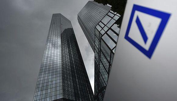 Sede del Deutsche Bank. (Foto: EFE)