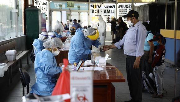 Aumentan los casos de coronavirus en el país. (Foto: Joel Alonzo/GEC)