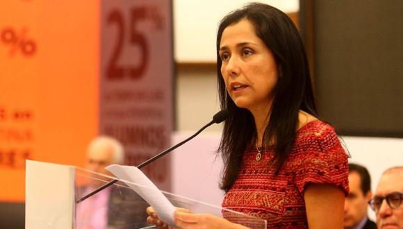 Nadine Heredia. (Foto: Andina)