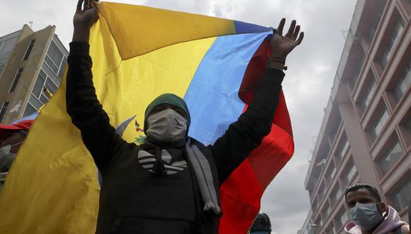La crisis en Ecuador desencadenó en protestas en el país. (Foto: AP)