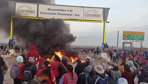 """""""Rechazamos tajantemente los actos violentos perpetrados por algunos manifestantes que han destruido propiedad pública y privada"""", dijo la AGAP. (Foto: Twitter)"""