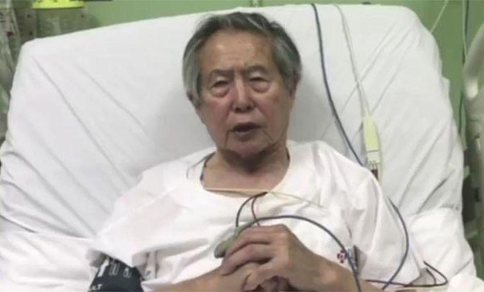 Alberto Fujimori ya fue hospitalizado y se encuentra recibiendo el tratamiento adecuado, informó su médico de cabecera. (Foto: GEC)
