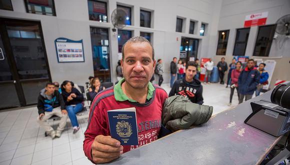 Con vigencia de nuevo requisito, 1,630 venezolanos ingresaron al Perú cuando el promedio era de3,500 personas. (FOTO: Migraciones)